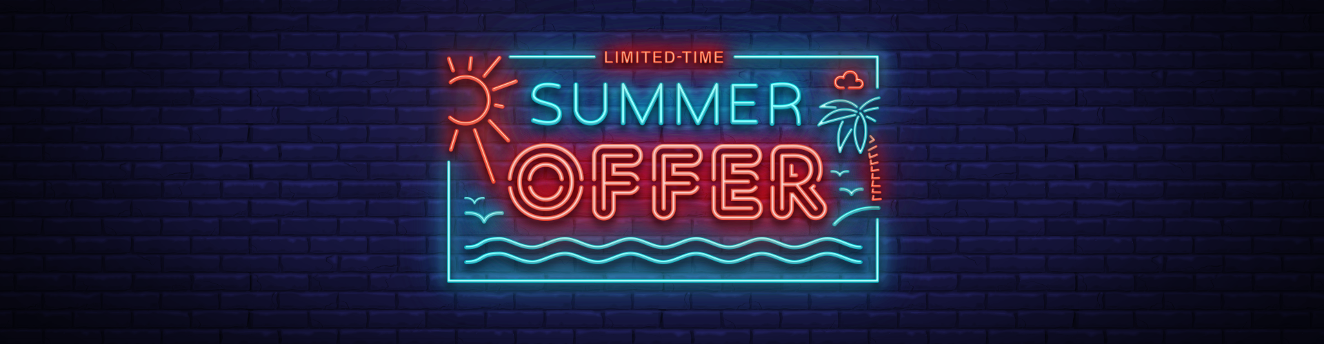 Limited-time summer offer