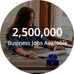 2,500,000 Business Jobs Available